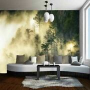 Green Grey Forest 3d Full Wall Mural Photo Wallpaper Printing Home Kids Decor