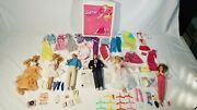 Vintage Barbie Dolls And Clothes Lot 60's To 80s Good To Excellent Condition