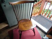 Nichols And Stone Co. Wooden Antique Chair