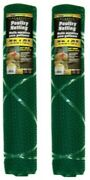 2 Yardgard 889241a 36 X 25and039 Ft 3/4 Green Mesh Pvc Poultry Netting Fencing