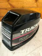 1996 Mercury 25 Hp 2 Stroke Outboard Engine Top Cowl Cover Hood Freshwater Mn