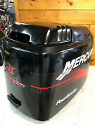 2001 Mercury F 90 Hp 4 Stroke Outboard Engine Top Cowl Cover Hood Freshwater Mn