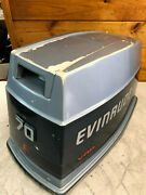 1986 Evinrude 60 70 Hp 2 Stroke Outboard Top Cowl Hood Cover Freshwater Mn