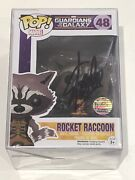 Funko Pop Marvel Guardians Of The Galaxy Rocket Racoon Signed By Stan Lee.. Coa