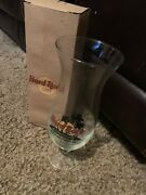 Hard Rock Cafe Indianapolis Hurricane Mixed Cocktail Drink Glass W/ Box