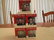2016 Set Of 5 Porcelain Disney Mickeys By Design A Collection By Department 56
