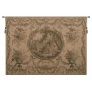 La Fontaine De Land039amour Fountain Of Love European Woven Tapestry Wall Hanging