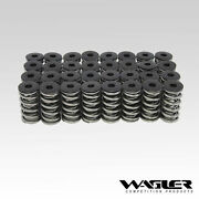 Wagler Dual Valve Spring Kit W/ Steel Retainers For 01-16 Chevy/gmc 6.6l Duramax