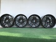 Bmw 745i 750i 760i 19 Genuine Factory Oem Gloss Black Wheels Rims Set Of 4