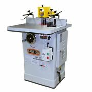 Baileigh Ss-2725 220v Single Phase 2-speed 3 Hp Spindle Shaper 27 X 25 Workin
