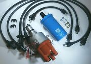 Vw Electronic Ignition Centrifugal 009 Distributor W/ Beru Coil And Ignition Wires