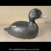 Antique George Blevins Alexandria Bay Ny Working Bluebill Drake Duck Decoy