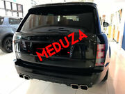 Range Rover L405 Svo Style Rear Bumper And Tailpipes