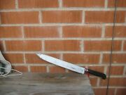 Antique 11 1/2 Blade Harrison Fisher 2xl Carbon Chef Slicing Knife England