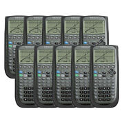 Texas Instruments Ti89 Titanium Programmable Graphing Calculator 10-pack