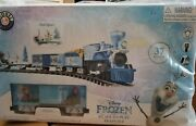 Just Arrived New Lionel Frozen Ready To Play Train Setbattery/remote Control