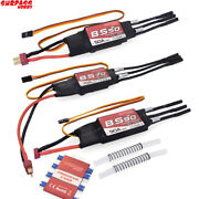 Waterproof 50a 70a 90a Boat Brushless Esc 2-6s Lipo Bec 5.5v/5a Programming Card