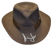 Harrison Ford Signed Official Indiana Jones Hat Fedora Autograph Proof Beckett