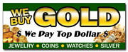 12 We Buy Gold 1 Decal Sticker Pawn Shop Coins Jewelry Fast Cash For Paid