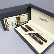 Stipula Etruria Volterra Spacial Edition Fountain Pen And Chemical Ink
