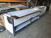 96 Steam Table 7 Pans All Stainless Steel - Natural Gas - Nsf Approved