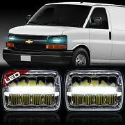 Led Sealed Beam Headlamp For Chevy Express Cargo Van 1500 2500 3500