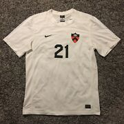 Authentic Game Worn Princeton Tigers Soccer Jersey Menandrsquos Size L Nike 21