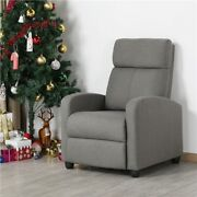 Mordern Single Recliner Chair Upholstered Sofa With Pocket Spring Living Room