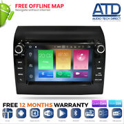 Android 9.0 Bluetooth Dab Stereo Gps Wifi Sat Nav Car Radio For Fiat Ducato Mk3