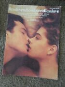 Endless Love By Lionel Richie Sheet Music Rare Find