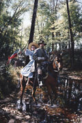 To The Lost Ford By John Paul Strain - Signed Executive Canvas Giclandeacutee