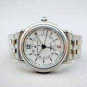 Maurice Lacroix Masterpiece Auto Day-date Size 40mm Silver Dial 5 Hands Sapphire