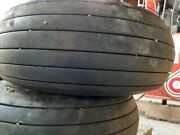 Pair Of Helicopter 7.00-6 Goodyear Aircraft Tires On Wheels