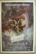 Star Wars Empire Strikes Back 1980 Original Movie Poster Style A Mint Condition