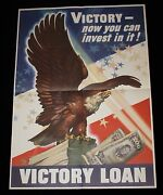 Victory - Now You Can Invest In It Wwii Victory Loan Poster Dean Cornwell