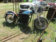 1969 Harley Shovel Head Rolling Chassis