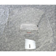Slip Streamer Replacement 19 Inch Clear Windshield With Adj Vent - S-267-19v
