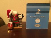 Dept 56 Possible Dreams Santa Peanuts Snoopy By The Chimney With Care 4016466