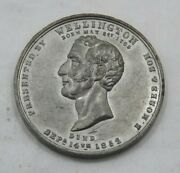 1856 Wellington Calendar Medal Issued By E. Moses And Son London T1409