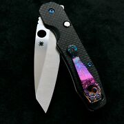 Spyderco Smock C240cfp Compression Lock Knife 4 Options To Choose From