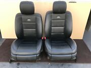 ✔mercedes W221 S65 S63 Front Amg Sport Leather Seats Seat Cushion Cover Oem
