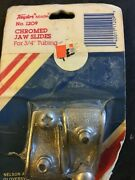 Chromed Jaw Slides 3/4 Tubing Taylor Made 1209 - Free Fast Shipping
