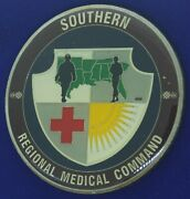 Us Army Southern Regional Medical Command Command Challenge Coin X-3