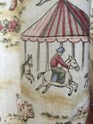 Rare Kids Boy Girl Bedroom Curtain Farm Animals Colonial Ducks Horse Rooster 96