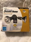Heath-zenith Motion Security Light Sh-5408-bz-a 110 Degree Gray Small Areas New