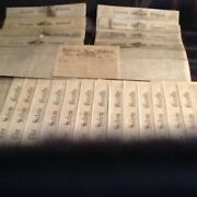 Old Newspapers, Salem, Mass., Uniontown, Pa., Manchester, New Hampshire Very-old