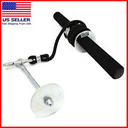 Forearm Wrist Blaster Roller Trainer Weight Bearing Rope Arm Strength Training