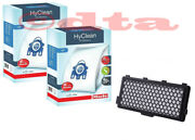 Miele Gn Hyclean Vacuum Cleaner Bags - 2x Boxes + 1x Hepa Filter