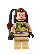 Lego Dr. Peter Venkman 75827 With Proton Pack Ghostbusters Minifigure