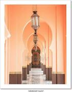 Beautiful Architecture Morocco Style Art Print Home Decor Wall Art Poster - C
